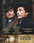 Sherlock Holmes - For your consideration movie poster (xs thumbnail)
