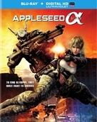 Appleseed Alpha - Blu-Ray movie cover (xs thumbnail)