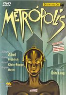 Metropolis - Spanish DVD movie cover (xs thumbnail)