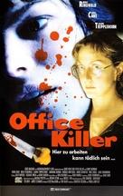 Office Killer - German VHS cover (xs thumbnail)