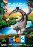 Rio 2 - Dutch Movie Poster (xs thumbnail)