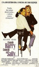 When Harry Met Sally... - Argentinian Movie Poster (xs thumbnail)