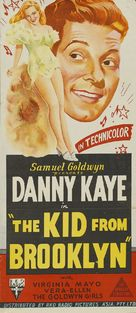 The Kid from Brooklyn - Australian Movie Poster (xs thumbnail)