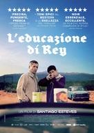 La educación del Rey - Italian Movie Poster (xs thumbnail)