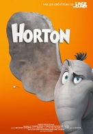 Horton Hears a Who! - French poster (xs thumbnail)