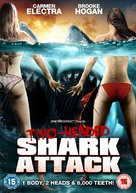 2 Headed Shark Attack - British DVD movie cover (xs thumbnail)