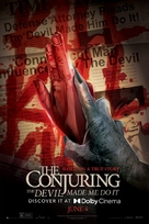 The Conjuring: The Devil Made Me Do It - Movie Poster (xs thumbnail)