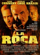 The Rock - Spanish Movie Poster (xs thumbnail)