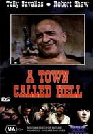 A Town Called Bastard - Australian DVD movie cover (xs thumbnail)