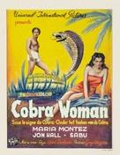 Cobra Woman - Belgian Movie Poster (xs thumbnail)