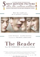 The Reader - Dutch Movie Poster (xs thumbnail)