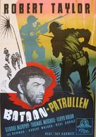 Bataan - Swedish Movie Poster (xs thumbnail)