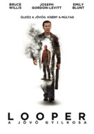 Looper - Hungarian Movie Poster (xs thumbnail)