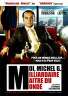 Moi, Michel G., milliardaire, maître du monde - French DVD cover (xs thumbnail)