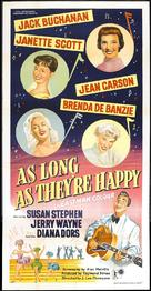 As Long as They're Happy - British Movie Poster (xs thumbnail)