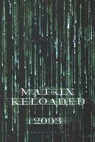 The Matrix Reloaded - Movie Poster (xs thumbnail)