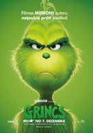 The Grinch - Latvian Movie Poster (xs thumbnail)