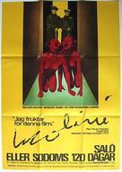Salò o le 120 giornate di Sodoma - Swedish Movie Poster (xs thumbnail)