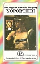 Il portiere di notte - Finnish VHS movie cover (xs thumbnail)