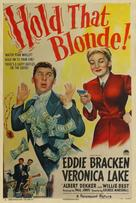 Hold That Blonde - Movie Poster (xs thumbnail)