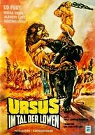 Ursus nella valle dei leoni - German Movie Poster (xs thumbnail)