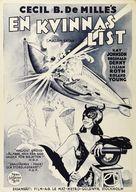 Madam Satan - Swedish Movie Poster (xs thumbnail)