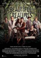 Beautiful Creatures - British Movie Poster (xs thumbnail)