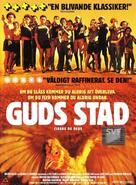 Cidade de Deus - Swedish DVD movie cover (xs thumbnail)