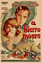 A hierro muere - Argentinian Movie Poster (xs thumbnail)