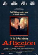 Affliction - Spanish Movie Poster (xs thumbnail)