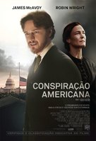The Conspirator - Brazilian Movie Poster (xs thumbnail)