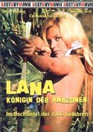 Lana - Königin der Amazonen - German DVD cover (xs thumbnail)
