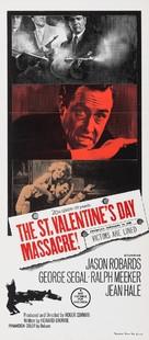 The St. Valentine's Day Massacre - Australian Movie Poster (xs thumbnail)