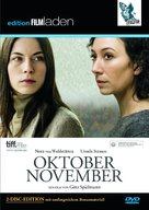 Oktober November - Austrian DVD cover (xs thumbnail)