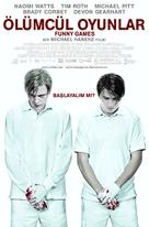 Funny Games U.S. - Turkish Movie Poster (xs thumbnail)