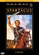 Spartacus - French DVD movie cover (xs thumbnail)