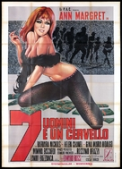 7 uomini e un cervello - Italian Movie Poster (xs thumbnail)