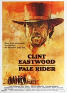 Pale Rider - Danish Movie Poster (xs thumbnail)
