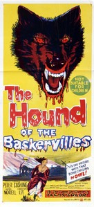 The Hound of the Baskervilles - Australian Movie Poster (xs thumbnail)