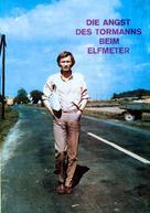 Die Angst des Tormanns beim Elfmeter - German DVD cover (xs thumbnail)