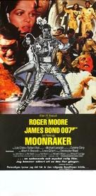 Moonraker - Swedish Movie Poster (xs thumbnail)