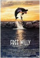 Free Willy - German Movie Poster (xs thumbnail)