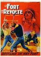 Revolt at Fort Laramie - Belgian Movie Poster (xs thumbnail)