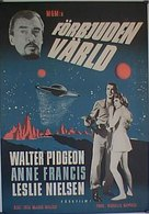 Forbidden Planet - Swedish Movie Poster (xs thumbnail)