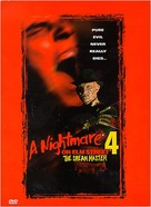A Nightmare on Elm Street 4: The Dream Master - DVD movie cover (xs thumbnail)