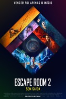 Escape Room: Tournament of Champions - Portuguese Movie Poster (xs thumbnail)