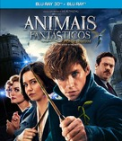 Fantastic Beasts and Where to Find Them - Brazilian Movie Cover (xs thumbnail)