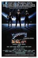 Superman II - Brazilian poster (xs thumbnail)