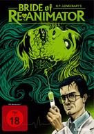 Bride of Re-Animator - German DVD cover (xs thumbnail)