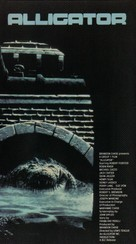 Alligator - VHS movie cover (xs thumbnail)